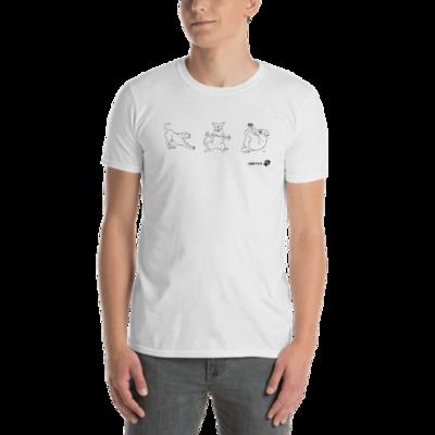 Series fit dog workout Unisex T-Shirt