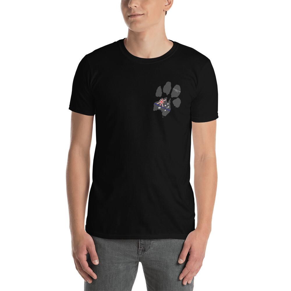 Pawz for Police - Paw Flag Unisex T-Shirt
