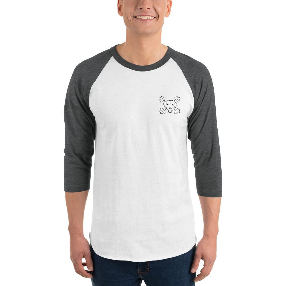 Fit Dog 3/4 sleeve raglan shirt