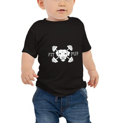 Baby 'Fit Pup' Jersey Short Sleeve Tee