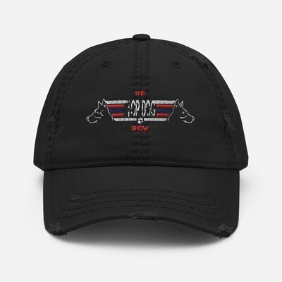 The Top Dog Show Distressed Hat
