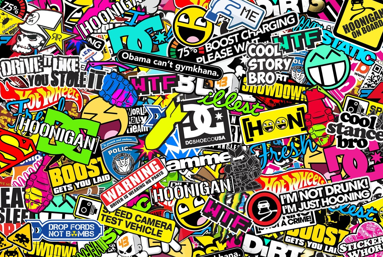 STICKERS! Any image or logo digitally printed. Starting from $10: