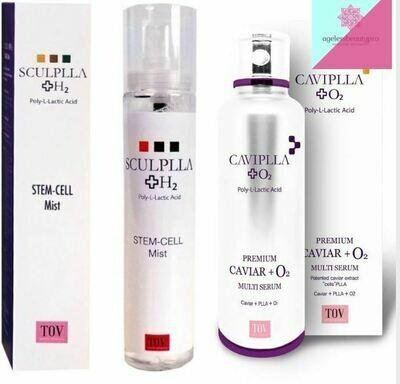 SCULPLLA Set - CAVIPLLA, Sculplla H2 Mist, PLLA Mask