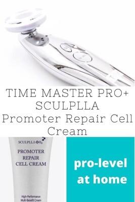 Time Master Pro + SCULPLLA Cell Repair Cream