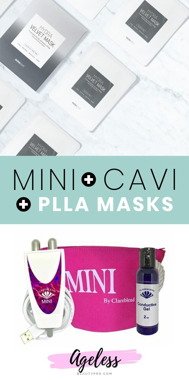 Clareblend MINI + CAVI + PLLA MASKS