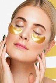 24K Gold Crystal Collagen Eye Masks - Lift & Firm