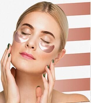 Honey & Copper Eye Mask