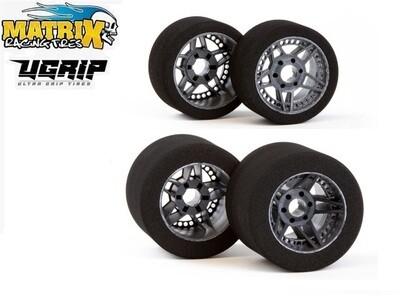 Matrix Carbon New Five UGRIP Tires Pre-Cut