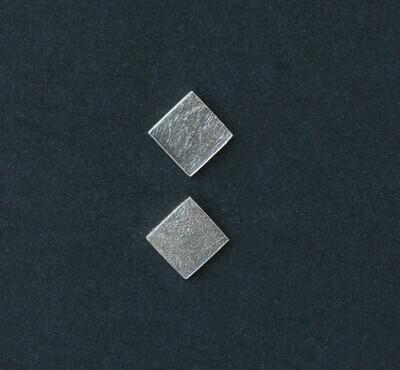 Textured Square Studs