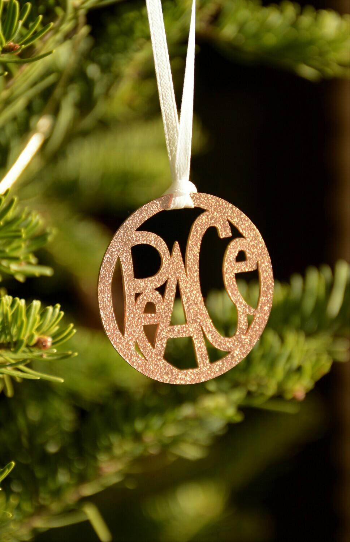 Copper tree ornaments