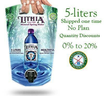 Lithia Mineral Springs Water