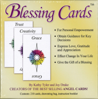 BLESSING CARDS: Communicate Your Love, Gratitude And Caring (210 cards; comes with organdy drawstring bag)