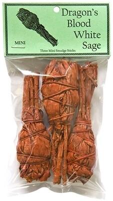 Dragon's Blood White Sage Mini 4