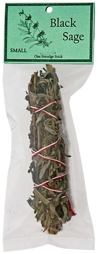 "Black Sage Smudge 4.5""L (Small)"