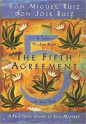 The Fifth Agreement: A Practical Guide to Self-Mastery (Toltec Wisdom) Paperback – November 1, 2011 by Don Miguel Ruiz (Author), Don Jose Ruiz (Author), Janet Mills (Author)
