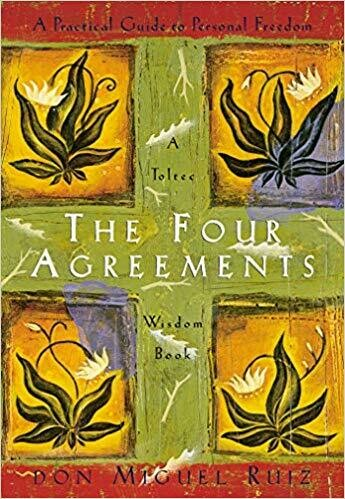 The Four Agreements: A Practical Guide to Personal Freedom (A Toltec Wisdom Book) Paperback – November 7, 1997 by Don Miguel Ruiz (Author)
