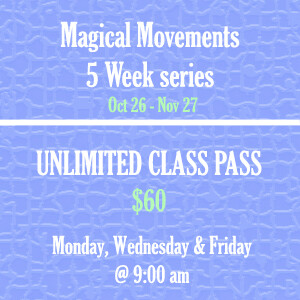 Magical Movement 5 Series- purchase  All (15 classes)