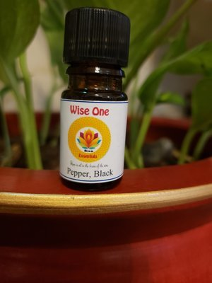 Black Pepper Essential Oil (5ml)