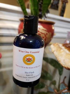 Hot Flashes Massage Oil