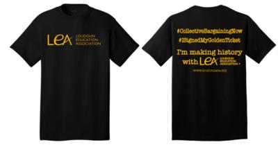 LEA Golden Ticket Shirt