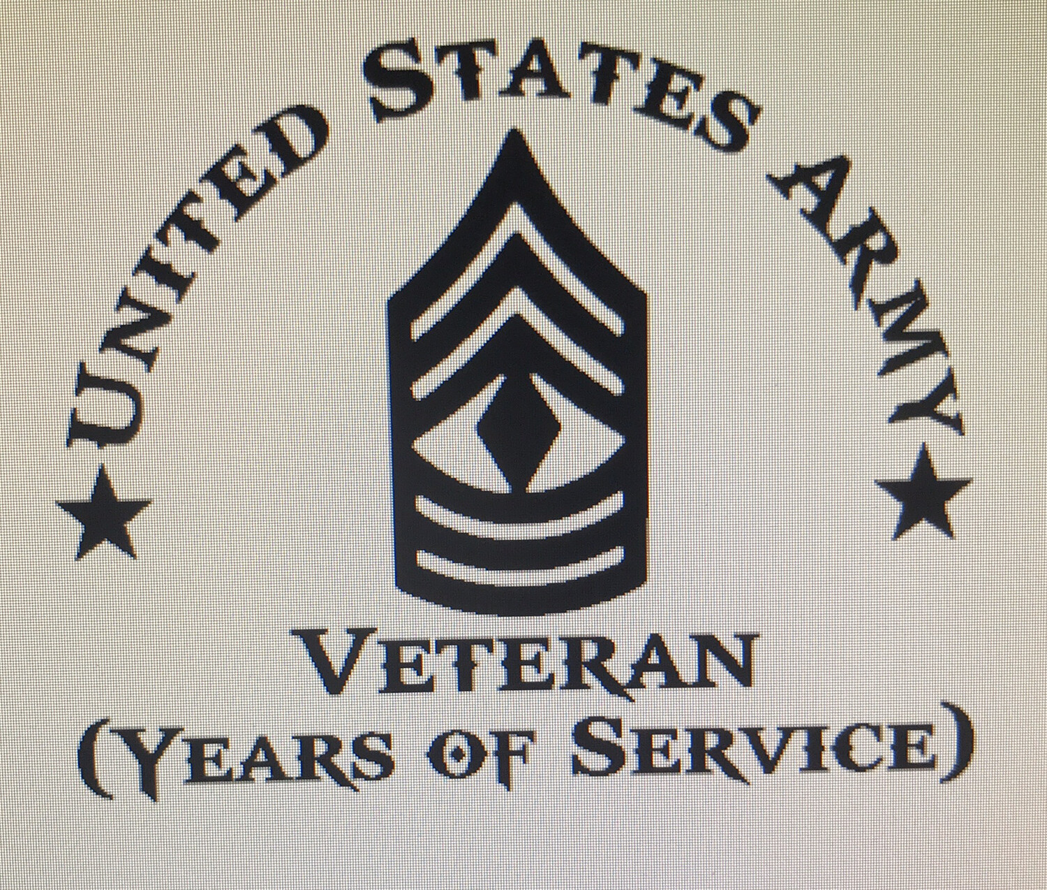 US Army Veteran Decal