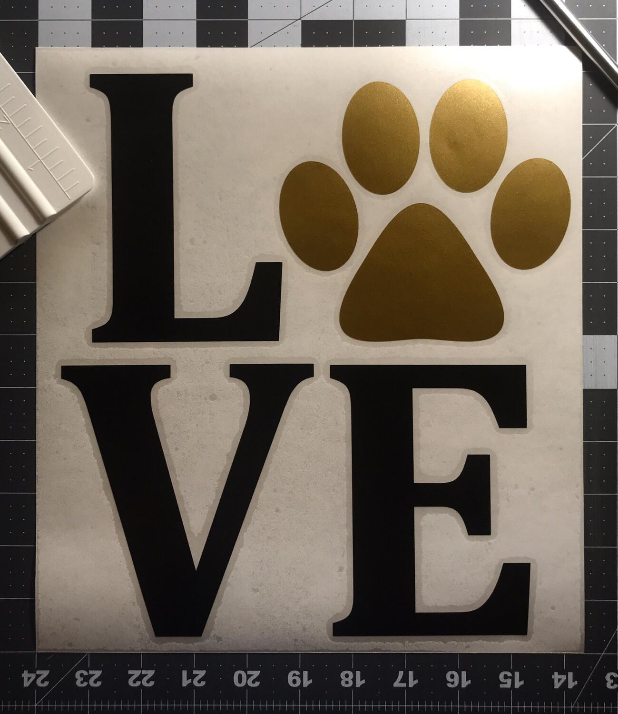 Paw Print Love