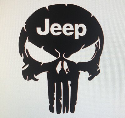 Jeep Punisher Decal