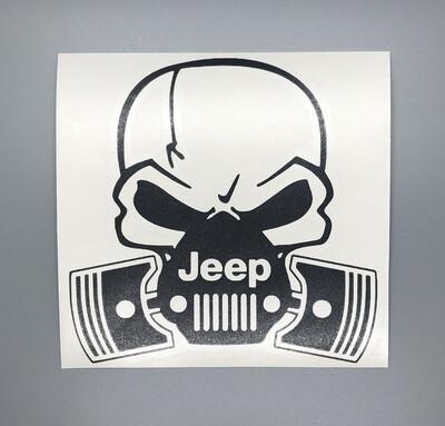 Jeep Skull W/ Piston Respirator