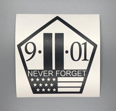 9-11 Memorial Decal
