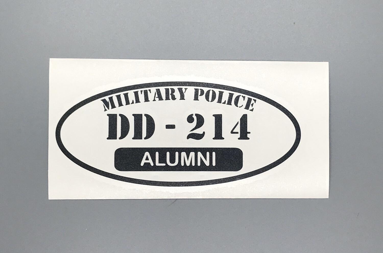 DD-214 Military Police Edition