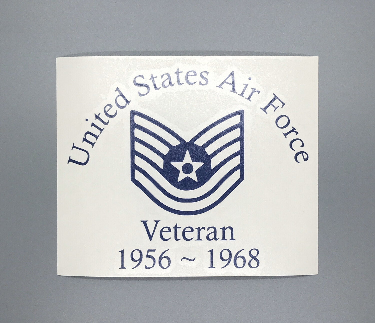 US Air Force Veteran Decal