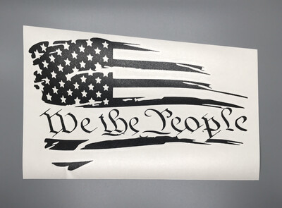 We the People Distressed Flag