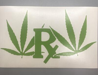 Cannabis RX Decal