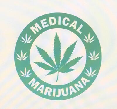 Medical Marijuana Decal