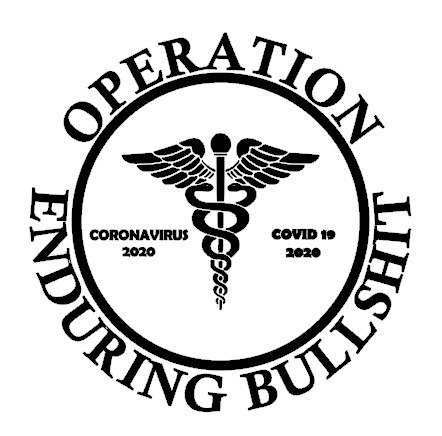 Operation Enduring Bullshit Coronavirus Decals