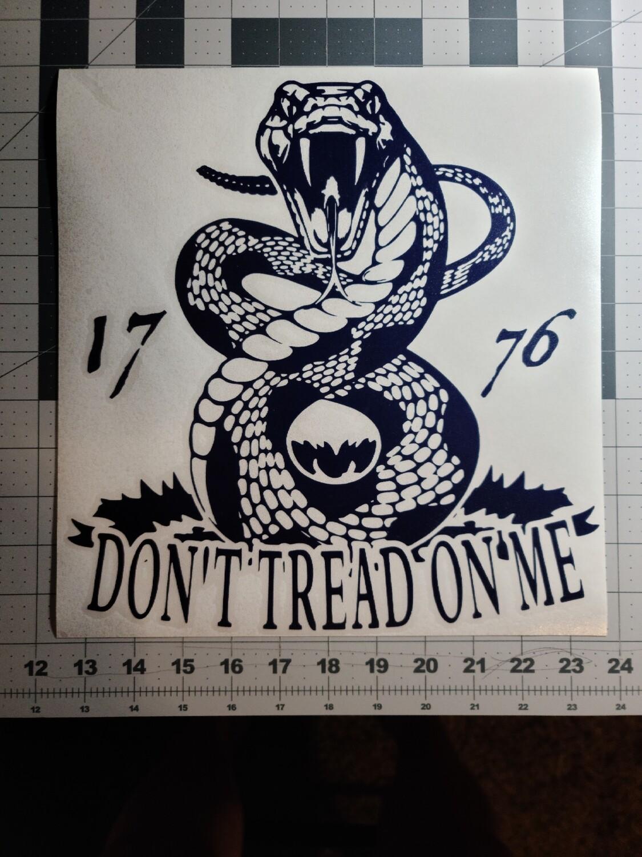 Don't Tread on Me, Large Snake