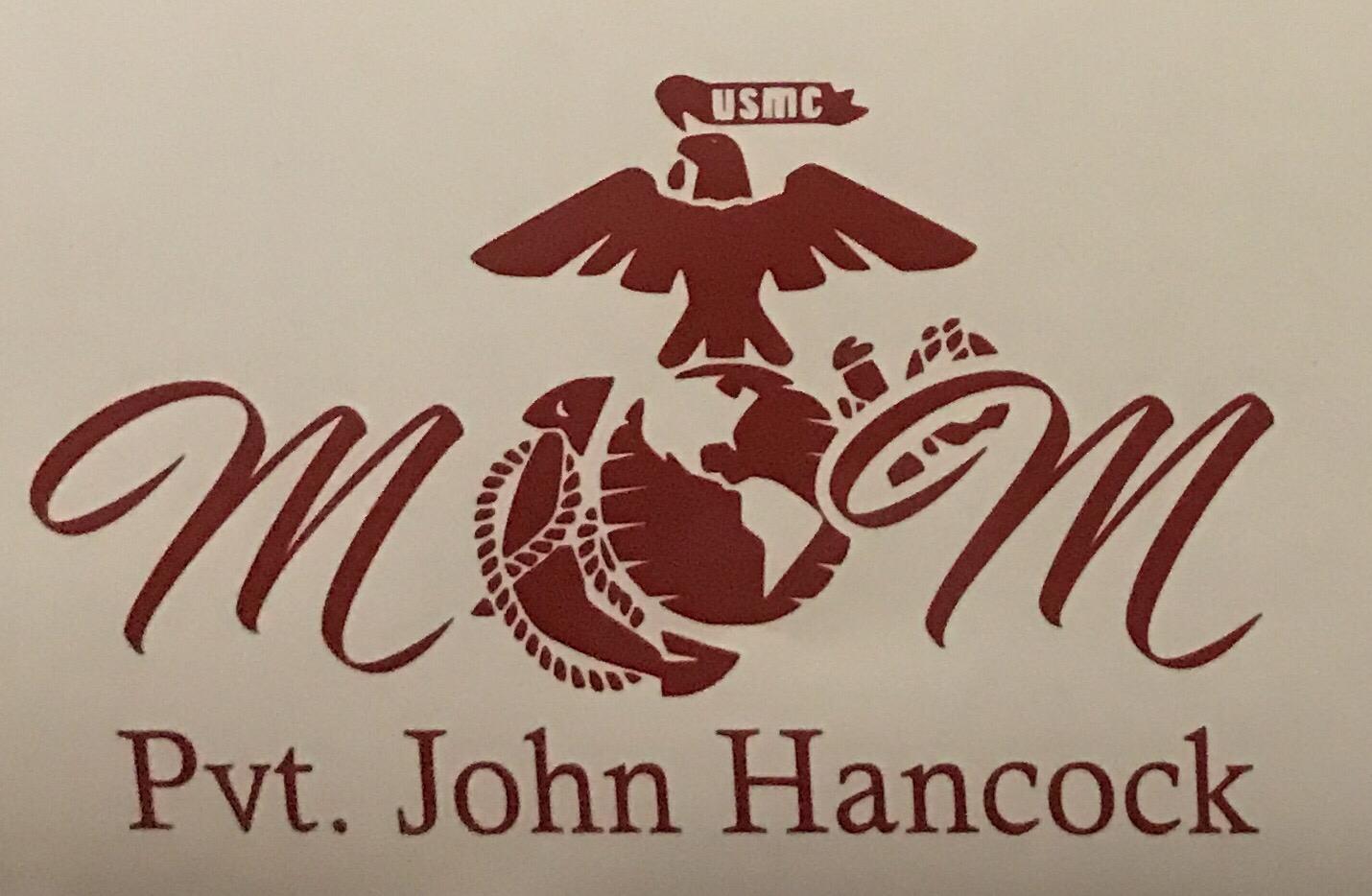 USMC Mom, Customized Name