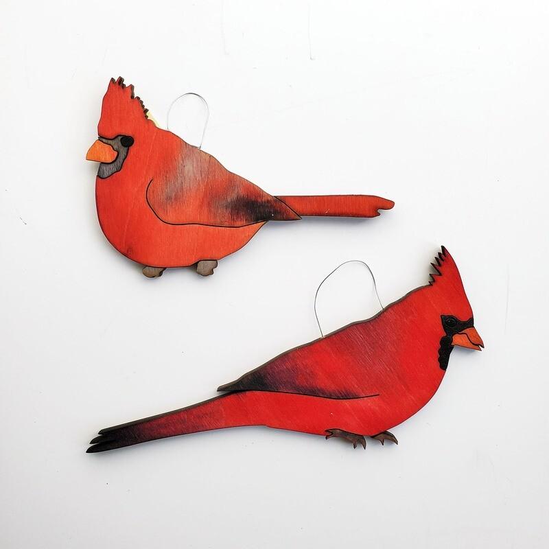 (Cardinal Front View)
