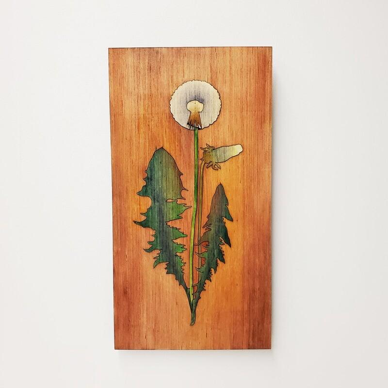 Wooden Dandelion