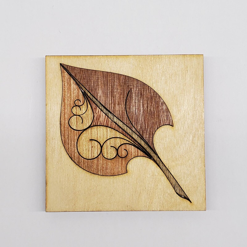 Wooden Small Leaf
