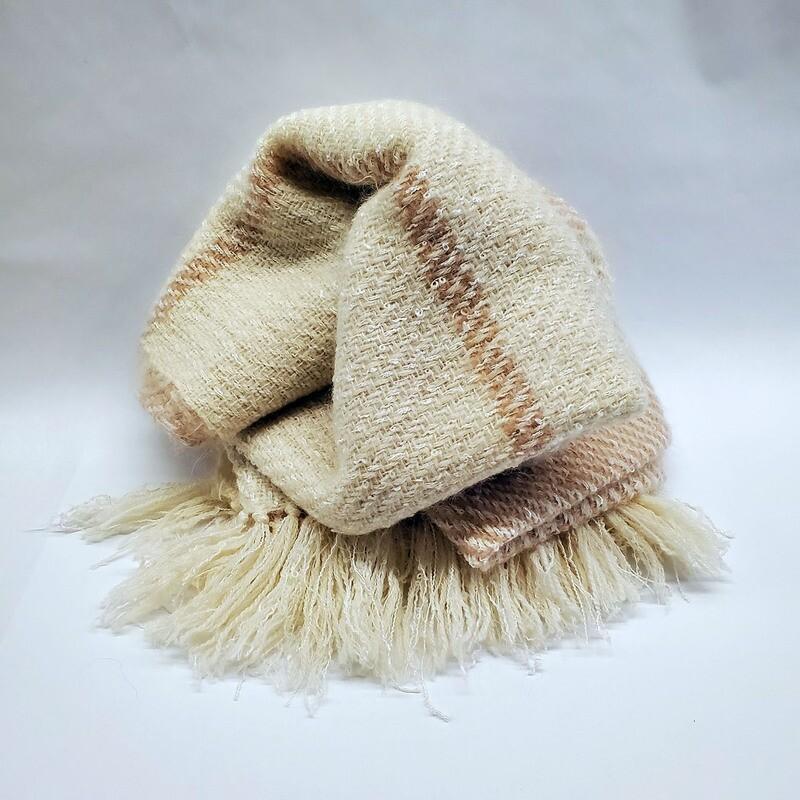 Acrylic/Cotton/Mohair/Wool Afgan