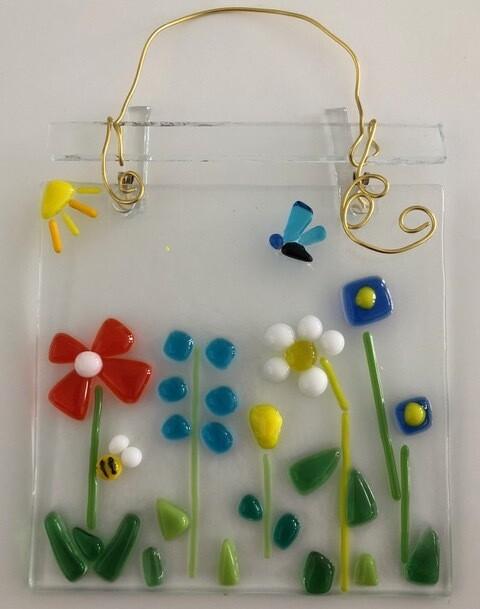 Fused Glass Kit: Garden Suncatcher