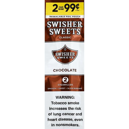 Swisher Sweets - Cigarrillos - Chocolate