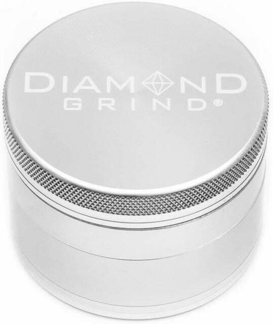 """Diamond Grind - 2.5"""" 4 Piece Herb Grinder"""