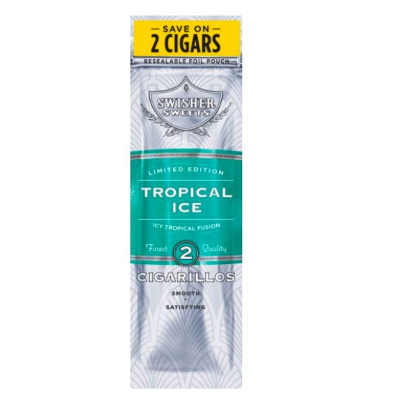 Cigarrillos Limited Edition Tropical Ice - Swisher Sweet