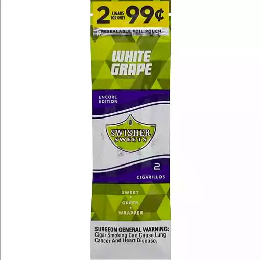 Swisher Sweet - Cigarrillos Encore Edition White Grape