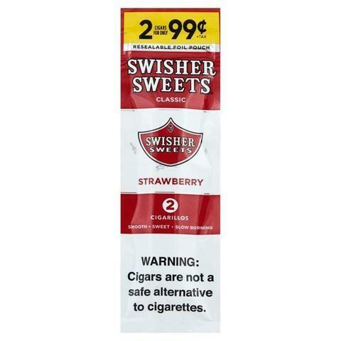 Swisher Sweets - Cigarrillos - Strawberry