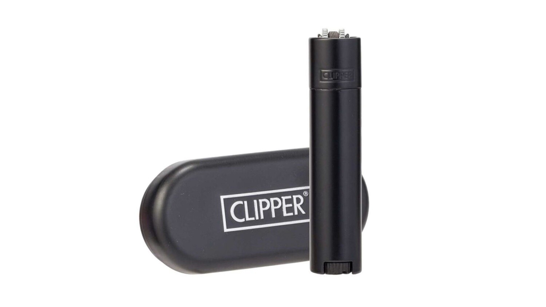Clipper - Encendedor  Metálico Matt Black