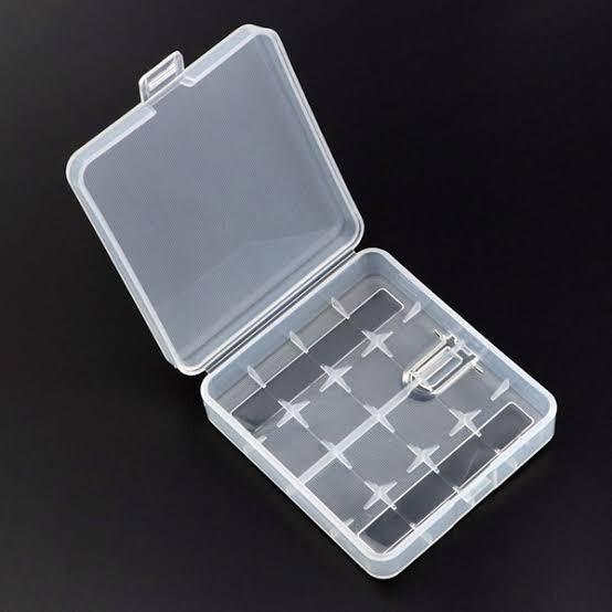 18650/26650 - Estuche de plástico para cuatro baterías