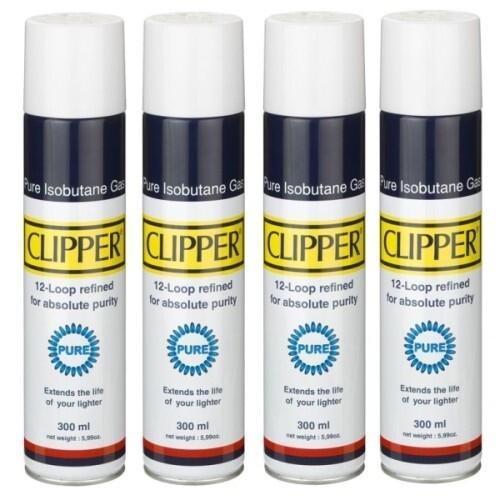 Clipper - Gas Isobutano 100% Puro 300 ml